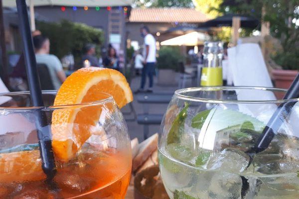 Premier verre en terrasse à Kehl jeudi 21 mai 2020