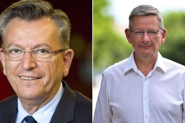 A Clermont-Ferrand, en vue des élections municipales, deux candidats s'affrontent et fragilisent le pôle central : Michel Fanget et Eric Faidy.