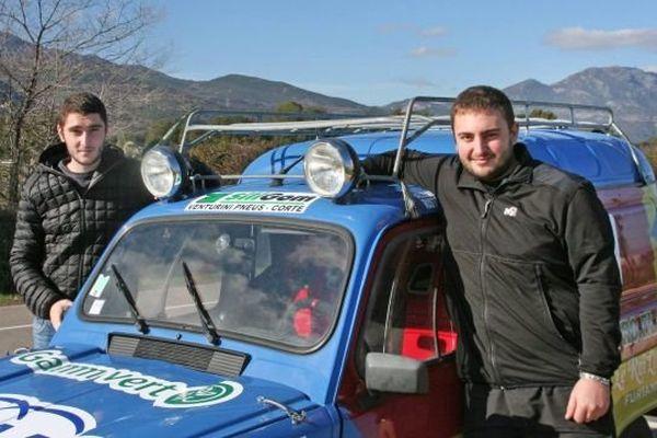 Guillaume Bellavigna et Antoine Ristorcelli vont faire la course à bord de cette 4 L.