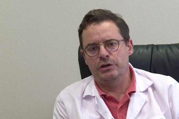 Damien Pollet, médecin généraliste du Jura a fait une forme grave du Covid-19 en mars 2020.