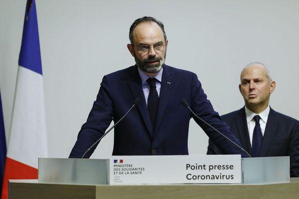 Point presse Edouard Philippe du 14 mars 2020, la France passe au stade 3 de l'épidémie de Coronavirus.