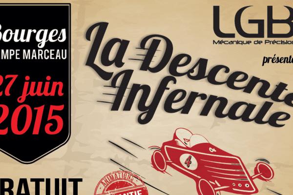La Descente Infernale aura lieu le 27 juin de 17h à 21h dans les rues de Bourges. Soyez au rendez-vous !