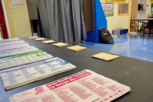 Les bureaux de vote n'ont pas du tout été pris d'assaut lors de ce premier tour des élections régionales 2021.