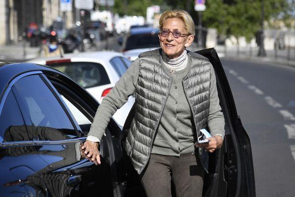 Isabelle Balkany devant la Cour de cassation en mai 2021.