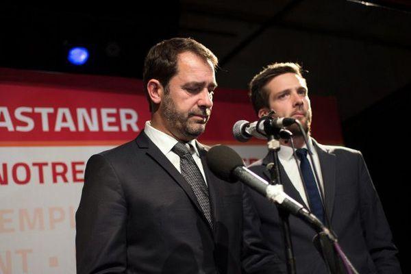 Christophe Castaner (PS), arrivé en troisième position en Paca avec 16% des voix derrière Marion Maréchal-le Pen (FN) et Christian Estrosi (LR).