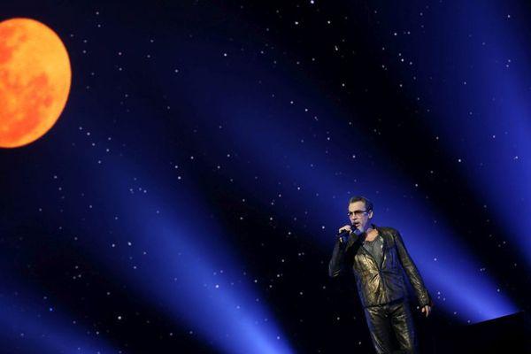 Florent Pagny en concert à Montbéliard le 10 décembre 2017
