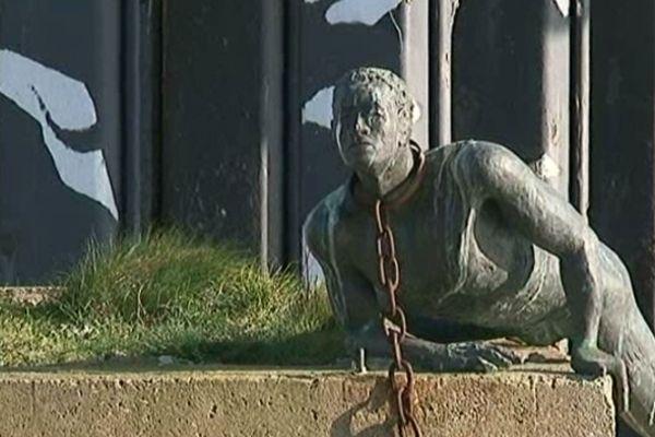 Le Mémorial aux esclaves de Saint-Nazaire