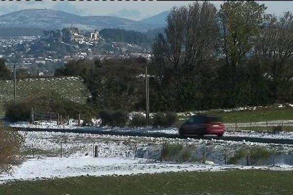 Retour à la normale sur les routes de l'Hérault, après la neige et le verglas - 29/10/2018