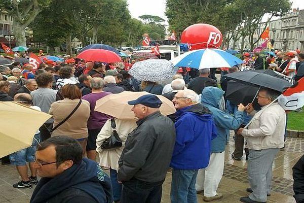 Carcassonne - manifestation contre la réforme des retraites - 10 septembre 2013.