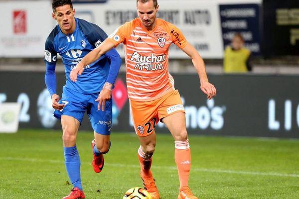 Grenoble, le vendredi 09 novembre 2018, Ligue 2 au Stade des Alpes, 14ème journée Grenoble / AC Ajaccio