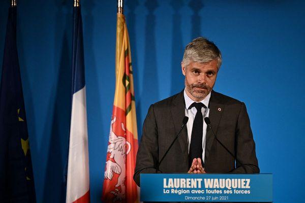 Dimanche 27 juin, Laurent Wauquiez (LR) a été largement réélu à la tête de la Région Auvergne-Rhône-Alpes.