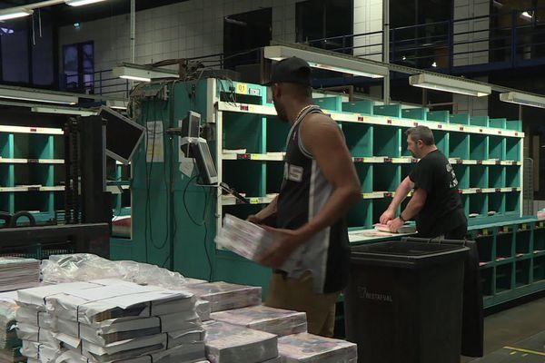 Distribution de la presse : la reprise du travail à Vénissieux