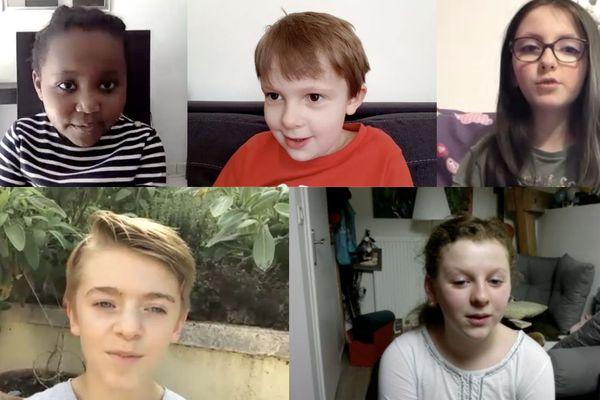 Les enfants nous donnent leurs avis au sujet du confinement et du coronavirus.