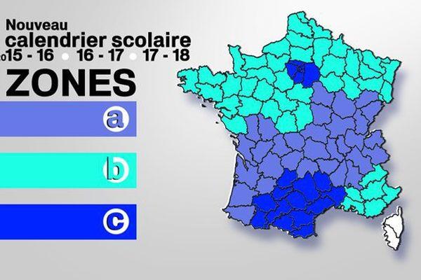 Avec le nouveau redécoupage des zones, la Lorraine passe de la zone A à la zone B.