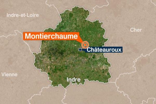 Un incendie s'est déclaré ce lundi dasn un hôtel de Montierchaume (Indre)
