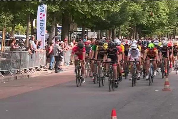 Le peloton du Critérium en 2016