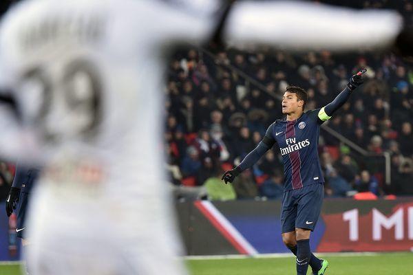 Le match SCO d'Angers/PSG, le 30 novembre 2016.