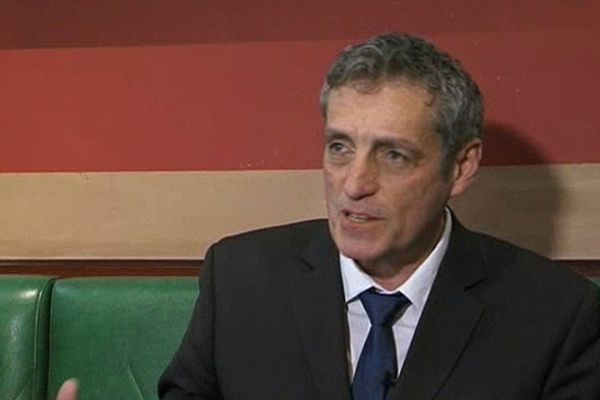 Philippe Saurel - candidat PS aux municipales de 2014 à Montpellier - 1er mars 2013.