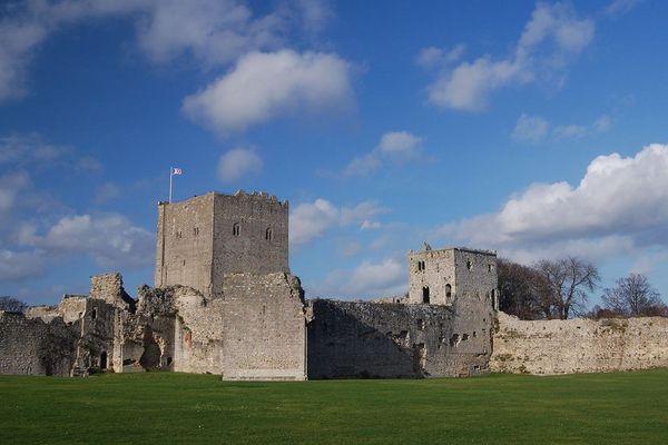 Le château de Portchester, près de Southampton.