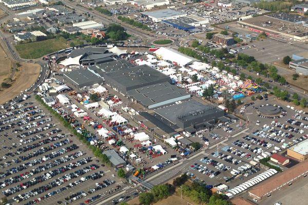 C'est en 1968 que la Foire fut déplacée au nord de la ville, au parc des Expositions