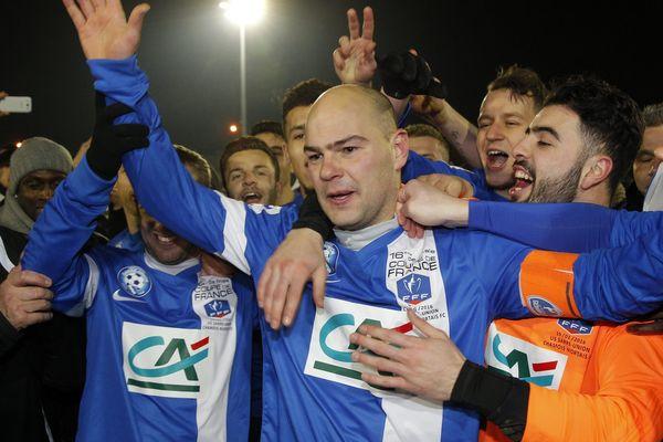 Le capitaine de l 'équipe de Sarre-Union Yann Schneider
