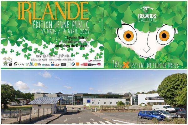 Après une édition tronquée en 2020, le festival Regards d'ailleurs 2021 remet à l'honneur l'Irlande. Les projections ont lieu dans l'amphithéâtre du lycée Rotrou de Dreux, ainsi que dans plusieurs établissements.