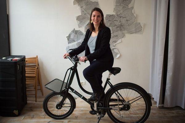Julie Laernoes, candidate Europe écologie-Les Verts (EELV) à la mairie de Nantes, est arrivée troisième du premier tour avec 19% des voix. Comme elle, trois autres écologistes sont qualifiés pour le second tour.