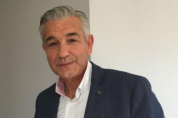 David Marti, maire PS du Creusot, en septembre 2019