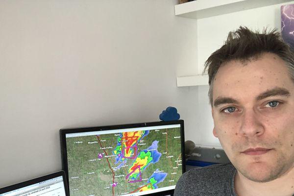Derrière ses écrans, ce record n'a pas échappé au climatologue Christophe Mertz.