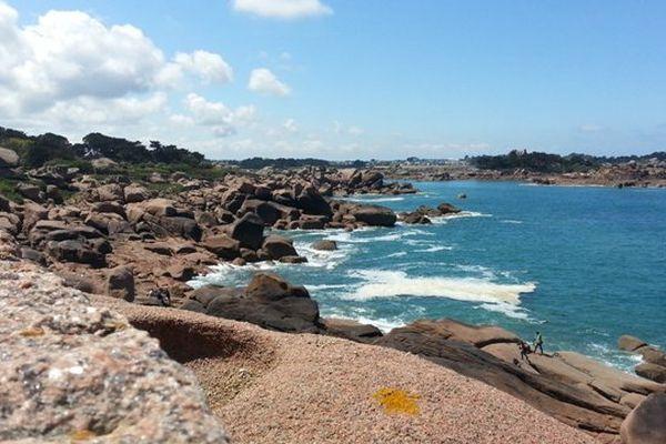 La côte de granit rose du coté de Ploumanac'h (22)