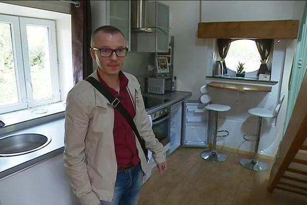 Franck Carriat, ex GM&S est devenu agent immobilier.