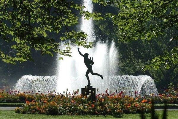 La jardin du Grand Rond à Toulouse.