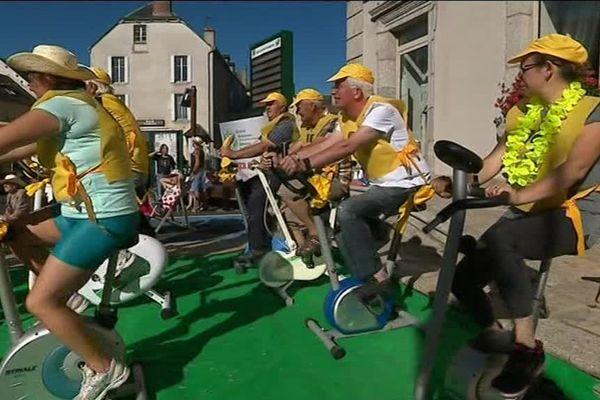 Aumont-Aubrac et la Lozère sont en fête depuis trois jours pour le passage du Tour de France, ce dimanche - 16 juillet 2017