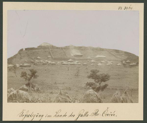 La photo de la Katama (citadelle) Ras Darghé, en Ethiopie, aurait été prise le 14 mai 1887