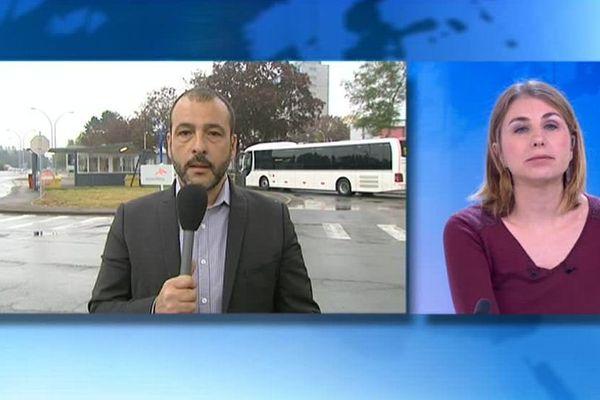 Notre journaliste Fabrice Rosaci, en direct dans le 12/13 Lorraine, expose l'historique du dossier Florange.