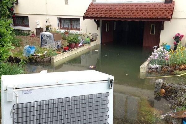De nombreuses maisons ont été inondées