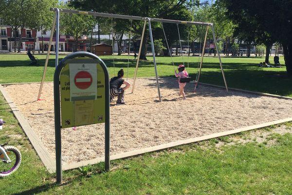 Les Aires de jeu pour enfant restent fermées à Lorient