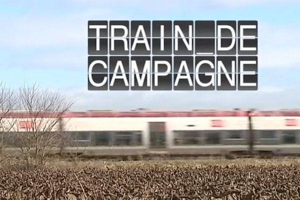 """L'équipe de """"Train de campagne"""" fait escale à Aimargues, dans le Gard."""