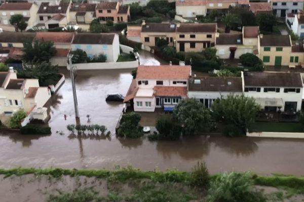 16/10/2018 - De fortes précipitations ont provoqué des débordements de cours d'eau en Haute-Corse.