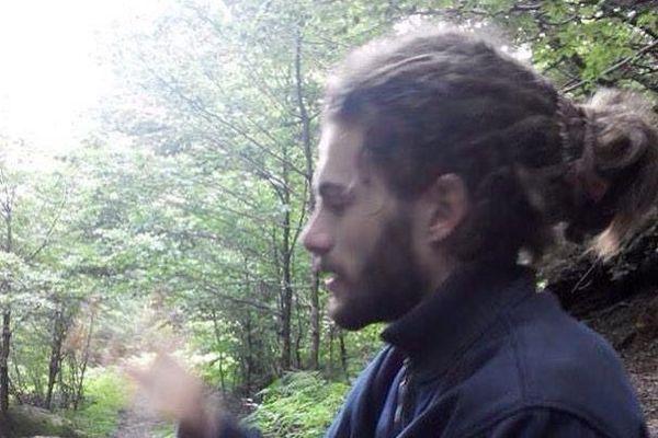 Le jeune Rémi Fraisse, tué sur le site du barrage de Sivens lors d'affrontements avec les forces de l'ordre