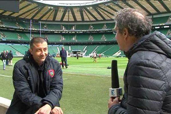 Mourad Boujellal a accordé à nos envoyés spéciaux à Londres un entretien d'avant-match.