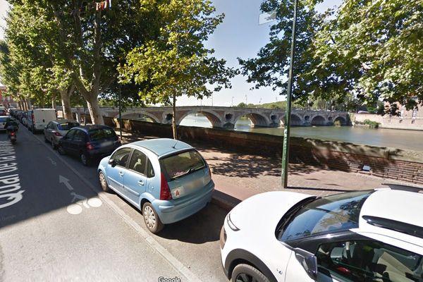 Capture d'écran du Quai de la Daurade à Toulouse (31).