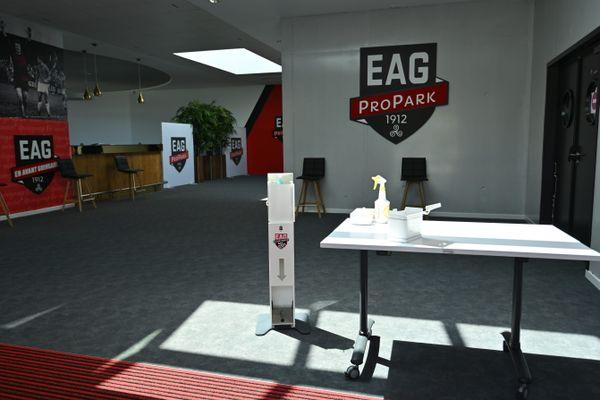 Les activités du club de l'EAG sont suspendues jusqu'aux résultats des tests Covid réalisés auprès des joueurs et membres du staff du groupe pro.