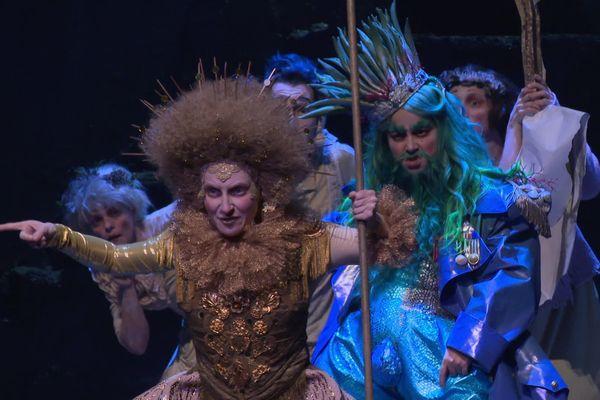 Coronis, opéra baroque du XVIII mis en scène par omar Porras au Théâtre de Caen