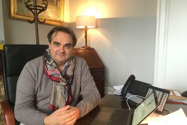 Jérôme Guillem, maire de Langon