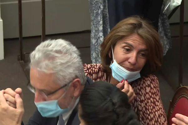 Dominique Santoni (LR) nouvelle présidente du département du Vaucluse.