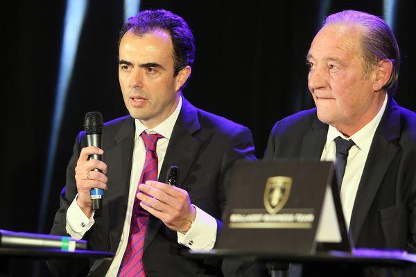 Ignacio Aguillo et Gervais Martel en octobre 2016.