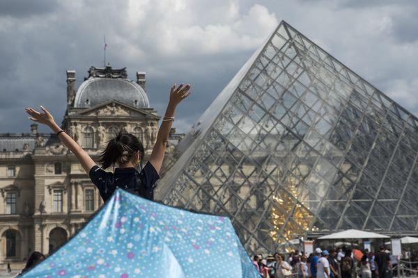Le musée du Louvre, à Paris.