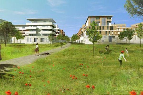 Le futur quartier intergénérationnel Eurêka.