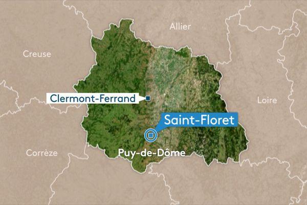 Une trentaine d'élèves a été évacuée en milieu d'après-midi, jeudi 31 mai, à Saint-Floret, dans le Puy-de-Dôme. Des pluies diluviennes se sont abattues sur le secteur provoquant une coulée de boue dans la cour de l'école maternelle. Tous les enfants ont dû être évacués.